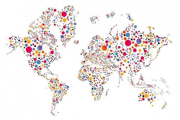 planisphere-carte-du-monde-avec-des-ronds