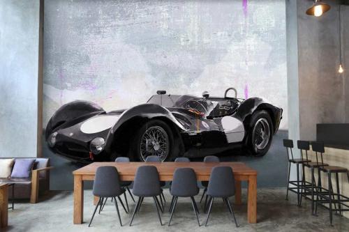 Papier peint tendance Maserati
