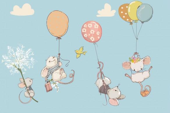 papier-peint-pour-enfant-voyages-des-souris