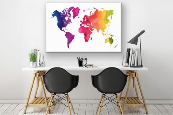 tableau-carte-du-monde-Happy-World