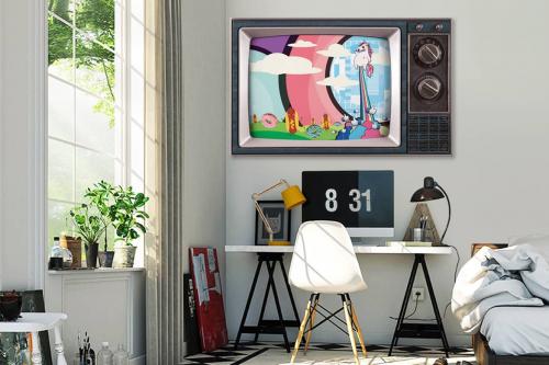 Tableau art moderne TV Gaga