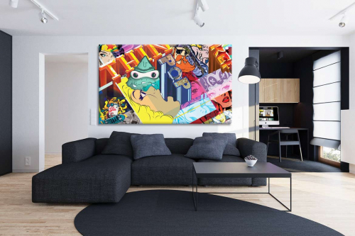 decoration-murale-moderne-the-real-pop-thing
