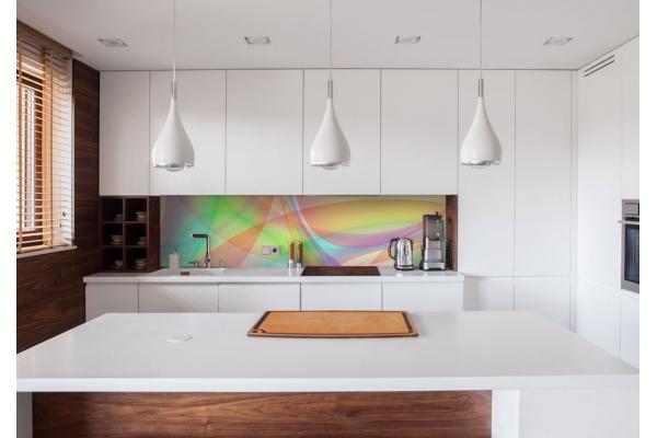 Revêtement mural pour cuisine crédence Rainbow