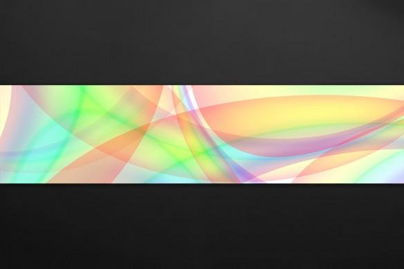 crédence déco rainbow