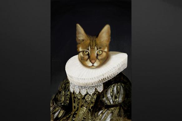 tableau-sur-toile-portrait-de-chat
