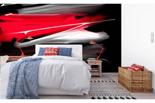 Papier peint panoramique chambre adulte Shibari