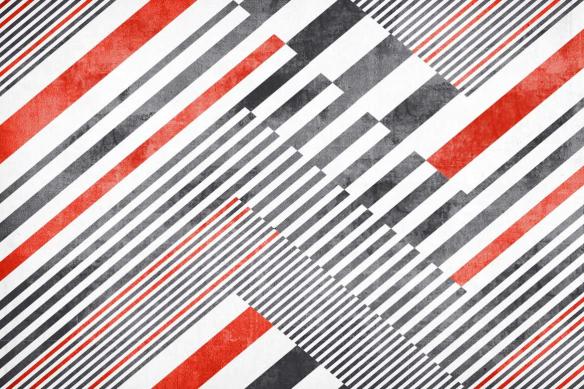 poster-mural-graphique-noir-blanc-rouge