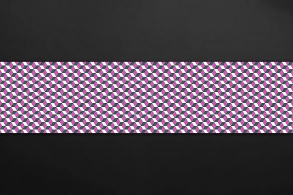 carreaux de ciment mural cuisine losanges violet