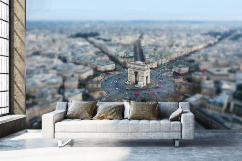 Papier peint Paris Arc de Triomphe