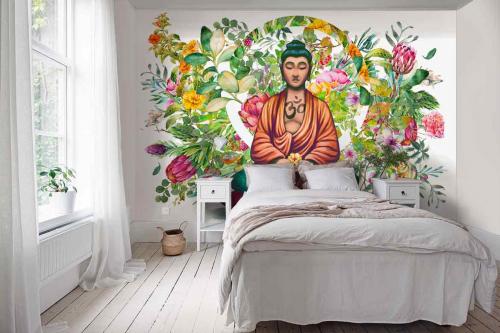 papier-peint-chambre-eveil-du-bouddha