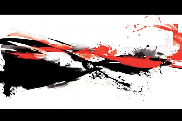 tableau-abstrait-rouge-et-noir-abstraction