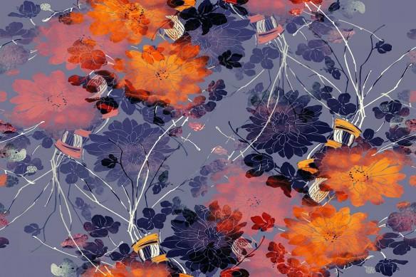cadre-fleur-abstrait Bella
