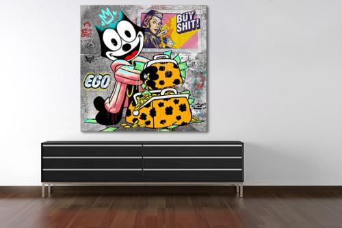tableau-d-art-contemporain-felix-et-la-sacoche-magique