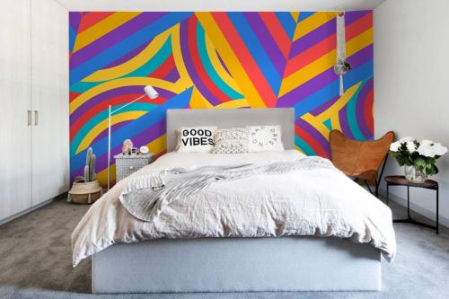 Papier peint chambre Hématite