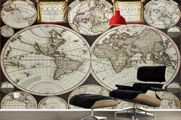 planisphère monde Terrarum Orbis