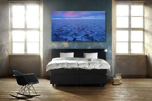 tableau-paysage-mer-nordique-eau-bleu-glacee