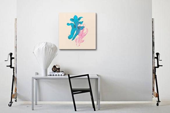 tableau-animaux-poissons-colore