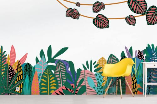 Papier peint jungle fantastique