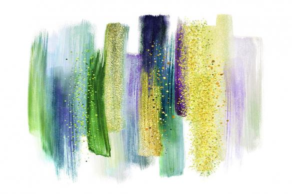 Cadre-mural-Mamba-vert