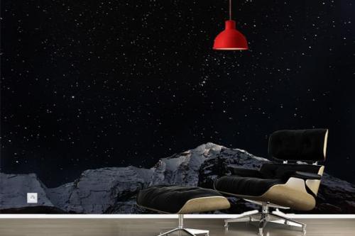 papier-peint-panoramique-nuit-étoilée
