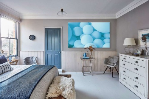 cadre-chambre-boules-bleues