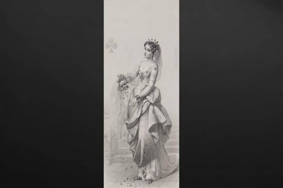 papier-peint-retro-gris-dame-de-trefle
