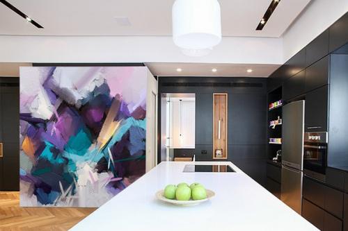 papier-peint-salon-fresque-violette