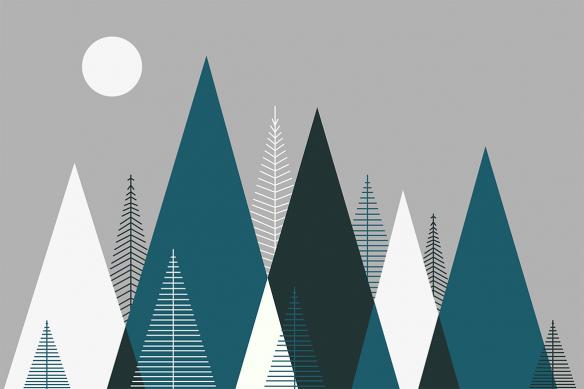 papier-peint-montagnes-bleues-canard