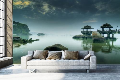 Papier peint panoramique Ile paradisiaque