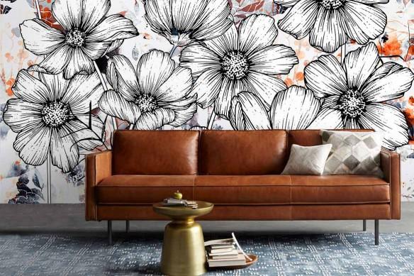 papier-peint-pour-salon-fleurs-cocon-douillet