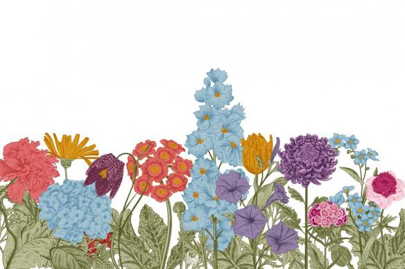 tableau-de-fleurs-ornements
