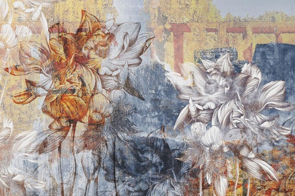 tapisserie-florale-romanesque