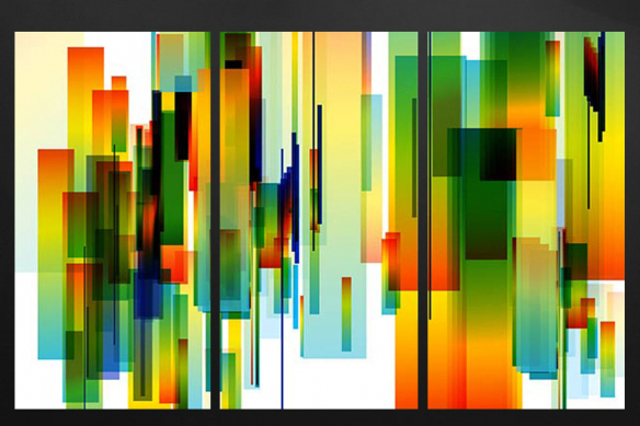 tableau multi panneaux artemis