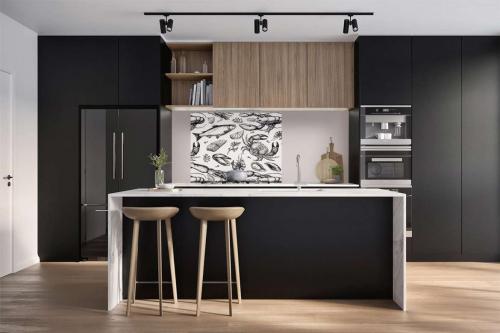 decoration-cuisine-moderne-fond-de-hotte-poisson-crustacés