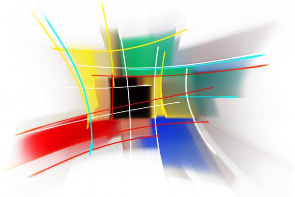 papier-peint-tendance abstrait tosa