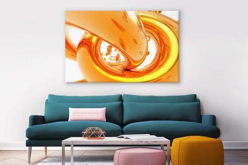 tableau-grand-format-abstrait-3d-orange