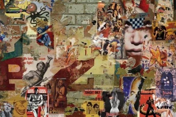 Vieilles affiches déco mural XXL