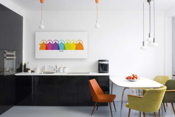 Tableau décoratif pour cuisine Tea Time by Marion lechat