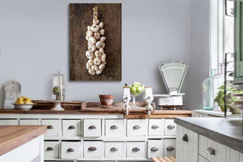 deco murale cuisine botte ail