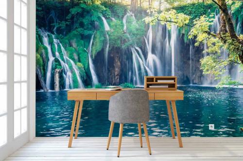 Papier peint tropical Minis cascades
