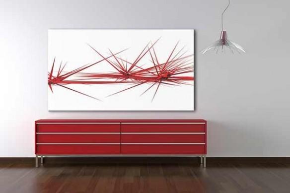 décoration bureau tableau abstrait Kipic by Jonathan Berne