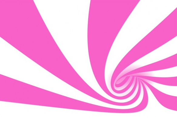 poster decoration abstrait Cyclone rose