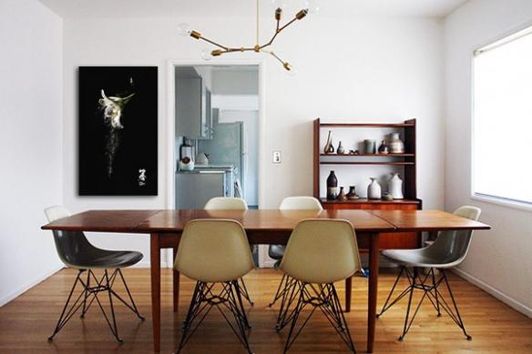 décoration design tableau moderne zen