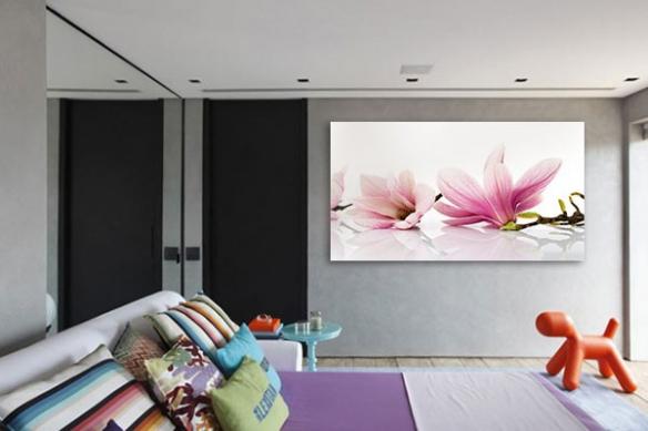 Tableau déco fleur Magnolia