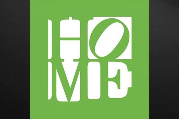 tableau vert home décoration intérieur