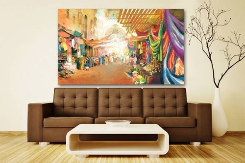 Decoration murale vente de tableaux design de paysages for Decoration design contemporain