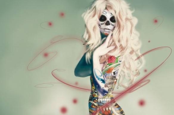 fête des mort mecicaines Skullgirl