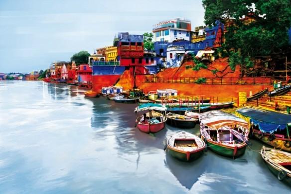 fleuve Le Gange