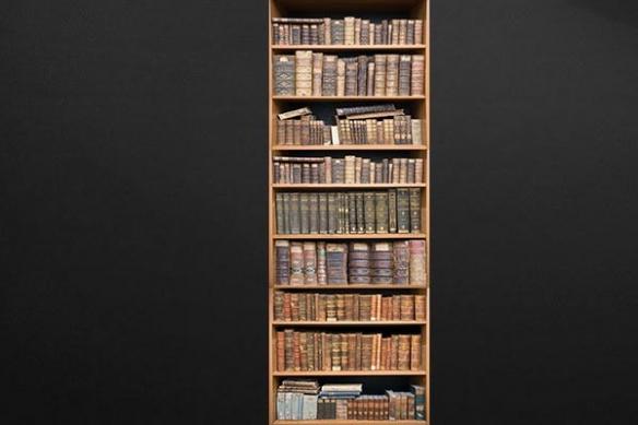 Papier peint décoration Bibliothèque