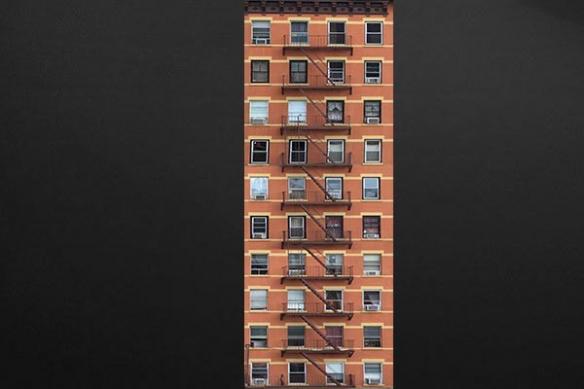 papier peint déco Immeuble New York